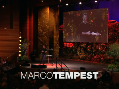 [TED] Marco Tempest: The magic of truth and lies