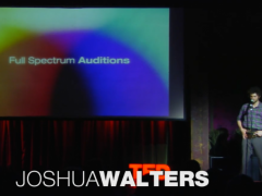 [TED] Joshua Walters: On being just crazy enough