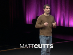 [TED] Matt Cutts: Try something new for 30 days