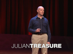 [TED] Julian Treasure: 5 ways to listen better